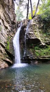 Cascate di San Fele percorsi