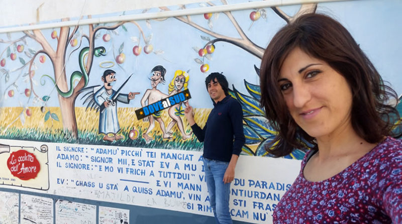 Murales di Montegiordano paese