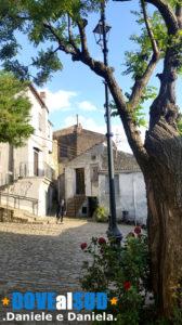 Piazzetta borgo antico di Colobraro
