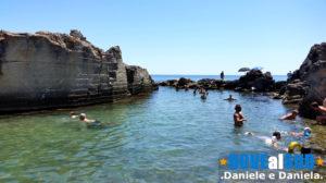Piscina naturale in Puglia