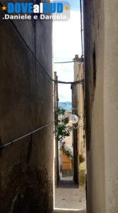 Scorcio centro storico di Senise