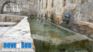 Fontana dei mascheroni Laterza