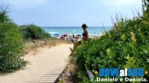 Posto Vecchio spiaggia passaggio