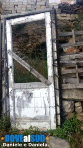 Vecchie abitazioni abbandonate a Salandra