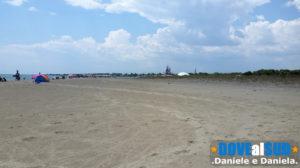 Spiaggia di Scanzano Jonico lunga e spaziosa
