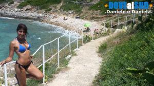 Spiaggia e mare Patù Salento