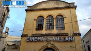 Vecchio cinema nel centro storico di Presicce