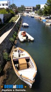Canale barche Porto di Torre Pali