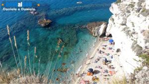 Mare e spiaggia di Tropea (Vibo Valentia)