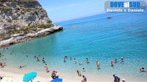 Mare trasparente Tropea in Calabria