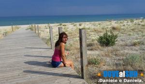 Passerella spiagge di Ginosa Marina