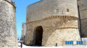 Porta Alfonsina centro storico di Otranto