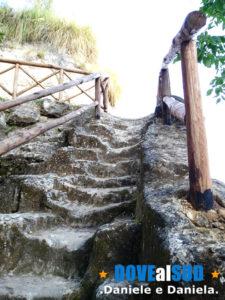 Scalinata Grotte degli Sbariati Zungri