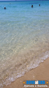 Spiaggia di Pescoluse mare e sabbia