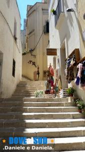 Vicoli con scalinate Otranto centro storico