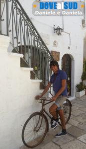 Borgo antico di Ostuni in Puglia