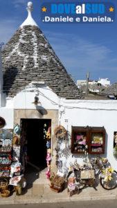 Negozi di souvenir trulli di Alberobello