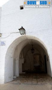 Porta di ingresso centro storico di Cisternino