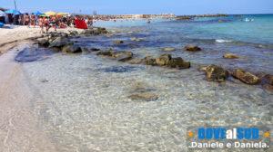 Spiaggia e mare Punta Penna Grossa