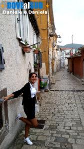 Foto stradine del centro storico di San Fele