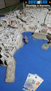 Plastico città in miniatura