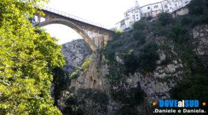 Ponte del Pianello e centro Storico di Muro Lucano