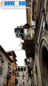 Scorcio centro storico di Lavello