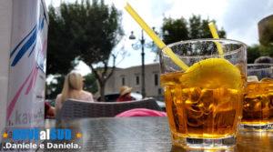 Bar sotto i portici in Piazza Castello a Venosa