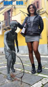 Foto nel centro storico di Melfi