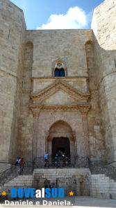 Ingresso di Castel del Monte