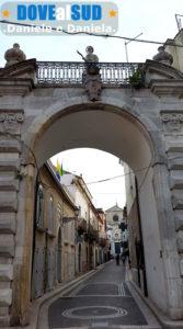 Porta Sant'Antonio Abbate di Ascoli Satriano centro storico
