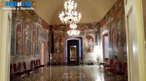 Sala del trono Museo Diocesano di Melfi