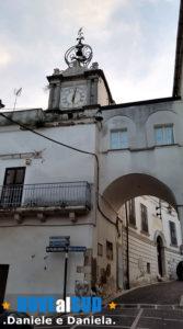 Torre dell'Orologio di Ascoli Satriano e Porta Nuova.