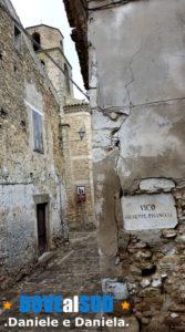 Vicoli centro storico Chiesa dell'Annunziata