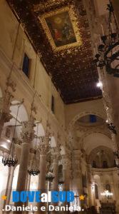 Basilica di Santa Croce Lecce, interno