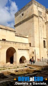 Castello di Lecce cortile