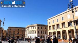 Piazza Sant'Oronzo centro storico di Lecce
