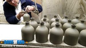 Quartiere delle ceramiche Grottaglie, botteghe