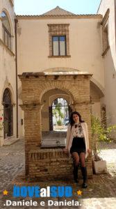 Pozzo cortile Palazzo Giannantonio