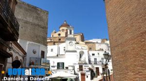 Torre dell'Orologio Pisticci e cupola Chiesa Madre