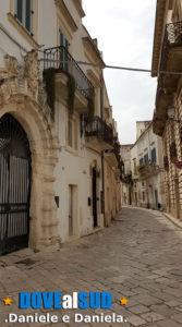 Centro storico del comune in provincia di Lecce