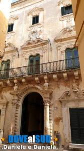 Centro storico di Gallipoli, palazzi