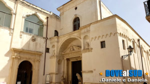 Chiesa della Madonna del Carmine con leoni