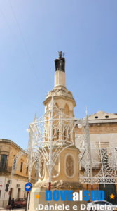 Colonna di San Giovanni Elemosiniere (Patrono)