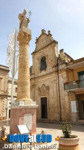Colonna San Giovanni Elemosiniere e Chiesa del Carmine