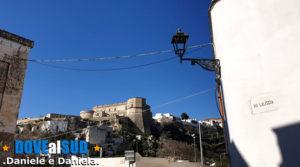 Panorama castello via Laliscia