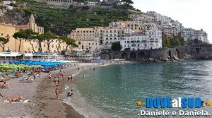 Amalfi mare e spiaggia