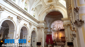 Chiesa di Santa Maria Assunta Positano, interno