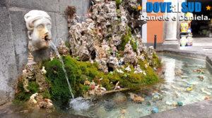 Fontana De Cape 'E Ciucci con presepe