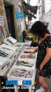 Pesce fresco, frutta e verdura da mangiare a Vietri